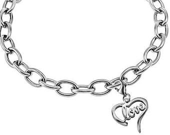 """Heart Bracelet """"Love"""""""""""