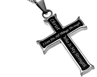 "Iron Cross ""Christ My Strength"""