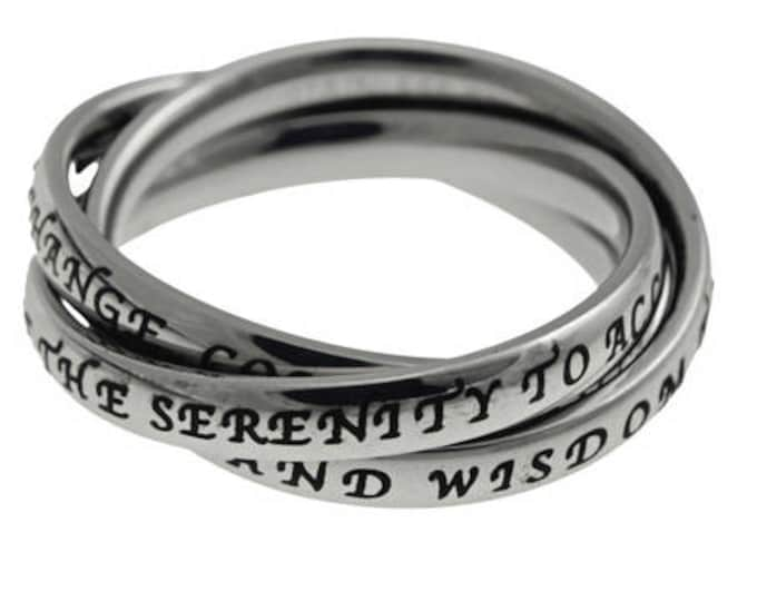 "Triple Band ""Serenity Prayer"""