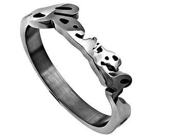 "Hand Writing Ring ""Faith"""