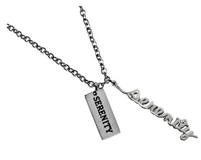 "Handwriting Necklace ""Serenity"""