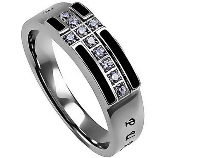 """Black Ensign Ring """"Purity"""""""