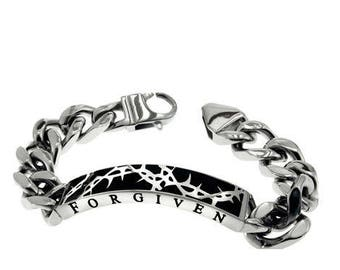 "Crown of Thorns Bracelet ""Forgiven"""