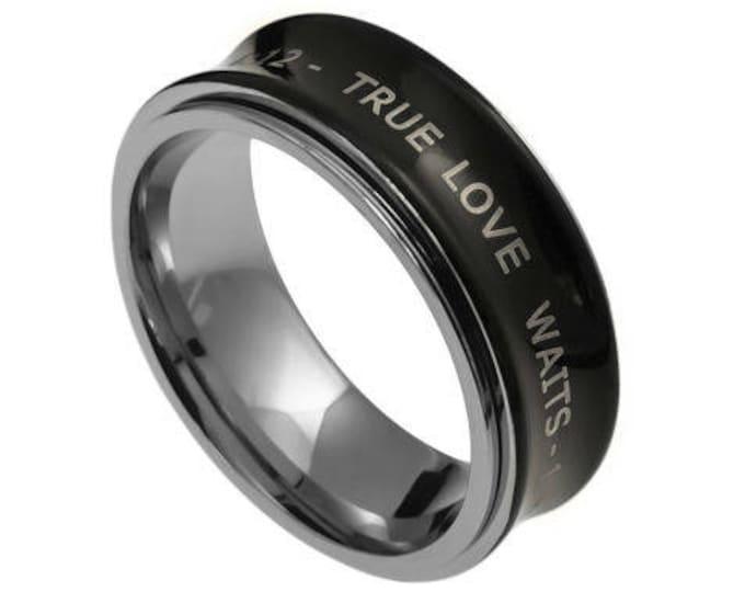 "Spinner Ring ""True Love Waits"""