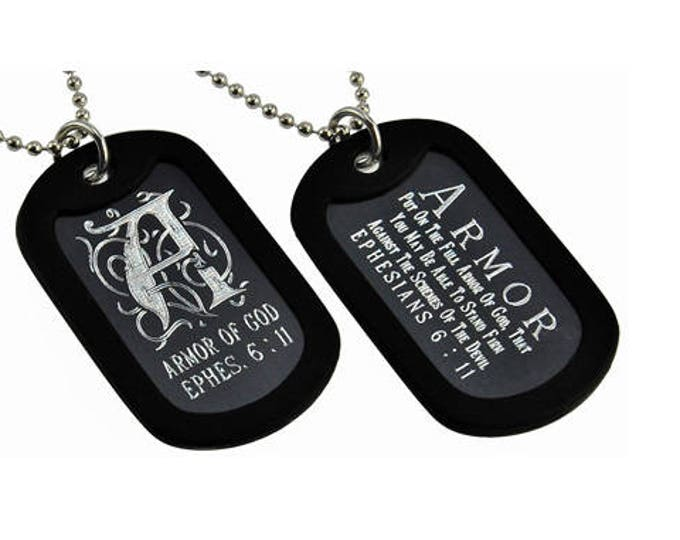Armor of God - Dog Tag Necklace