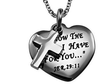 "Sweetheart Necklace ""I Know"""