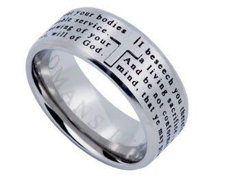 "Logos Ring ""Transformed"""