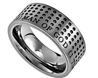 "Sport Ring ""Man Of God"""