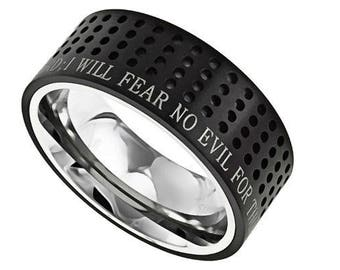 "Sport Ring ""Fear No Evil"""