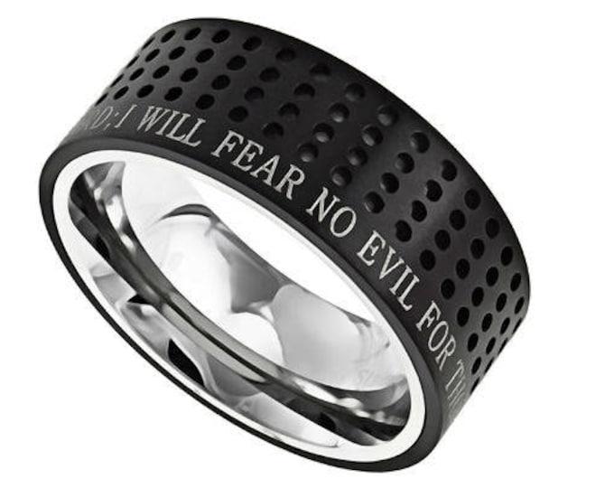 "Sport Ring ""Fear No Evil"""