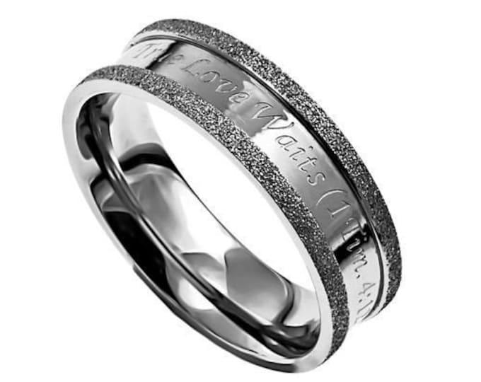 "Circle of Faith Ring ""Forgiven"""