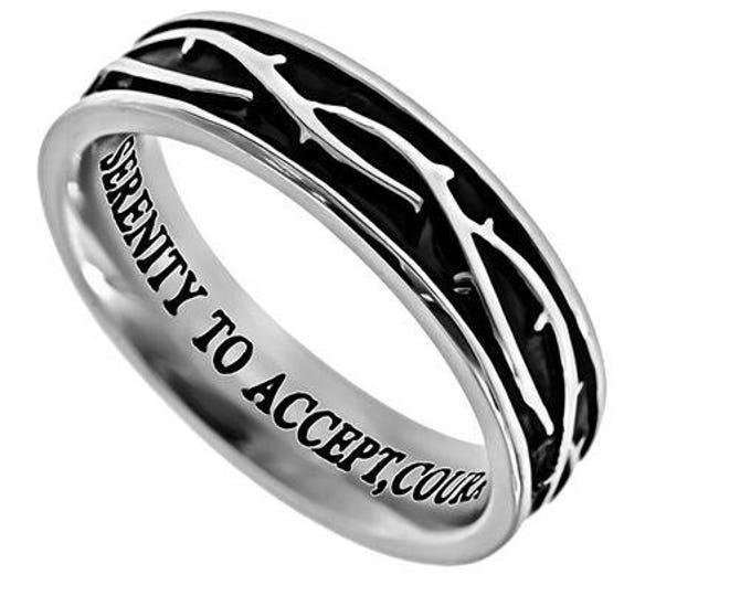 """Crown of Thorns Ring """"Serenity"""""""