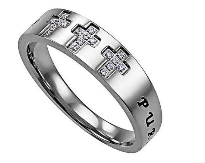 """Calvary Ring """"Purity"""""""