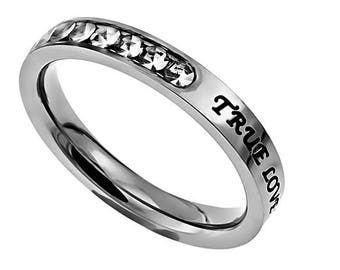 "Princess Ring ""True Love Waits"""