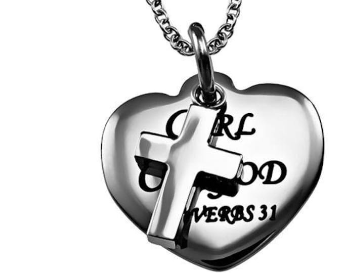 "Sweetheart Necklace ""Girl Of God"""