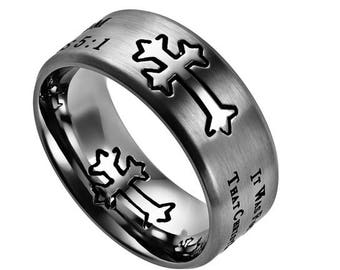 "Silver Neo Ring ""Freedom"""