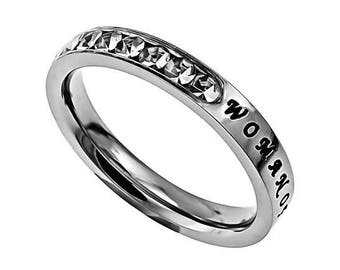 "Princess Ring ""Woman Of God"""