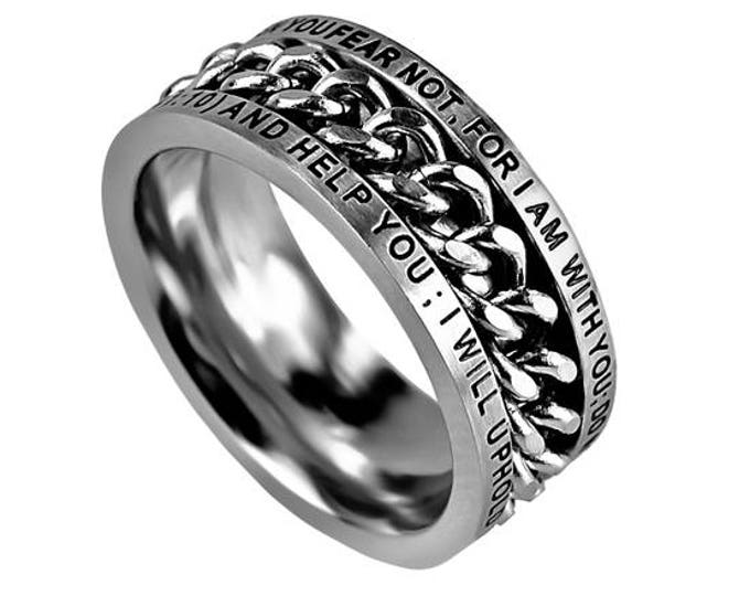 "Chain Ring ""Fear Not"""