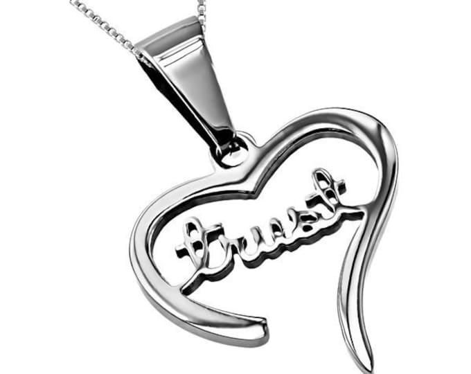 "Heart Necklace ""Trust"""