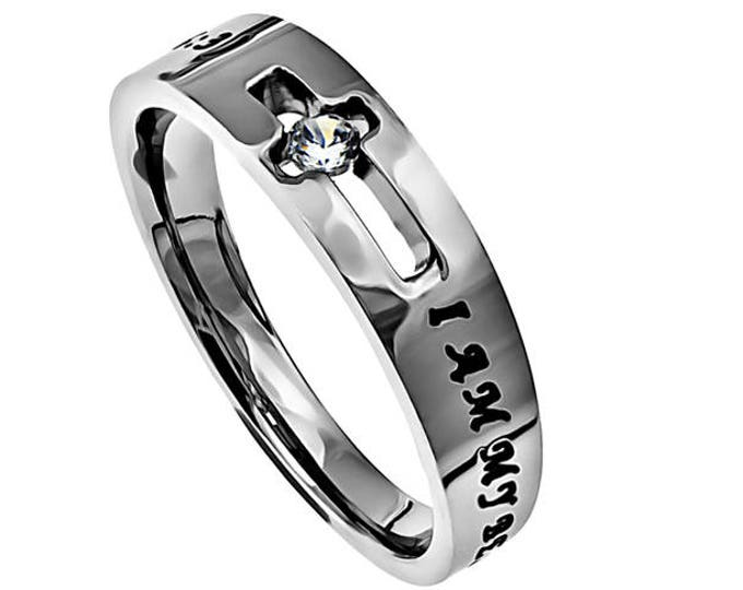 """One Cross Ring """"I Am My Beloved's"""""""