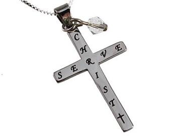 "Crystal Cross ""Serve"""