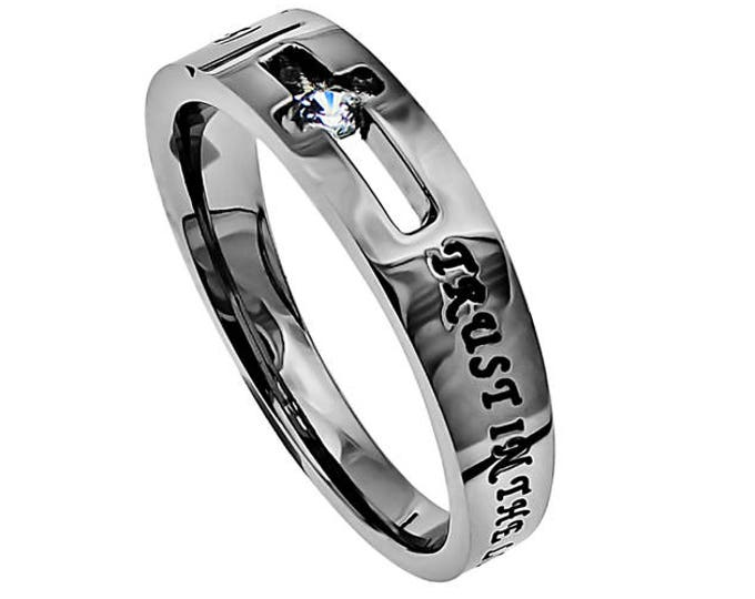 "Solitaire Ring ""Trust"""