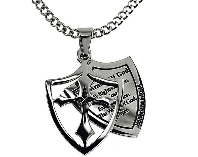 """Cross of Faith """"Armor Of God"""" Listed"""
