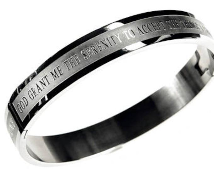 "Bangle Bracelet ""Serenity"""