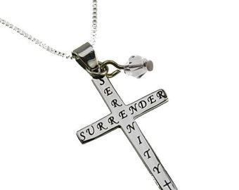 "Crystal Cross ""Serenity"""