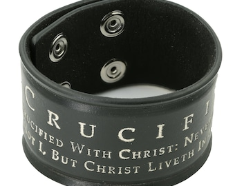 Men's Leather Cuffs