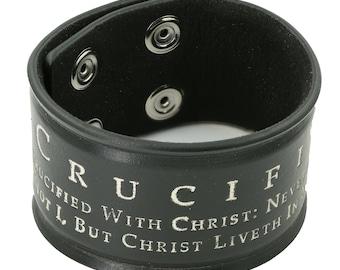 """Roman Cuff """"Crucified"""""""