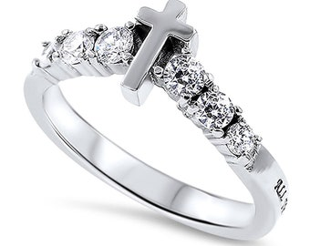 "Sola De Gloria Ring ""Woman of God"""