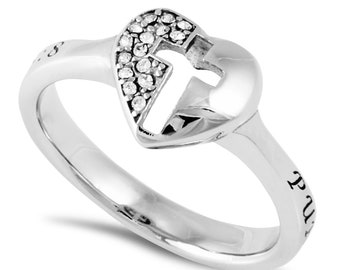 "Padlock Ring ""Purity"""