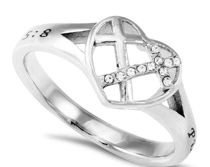 """Patchwork Ring """"Purity"""""""
