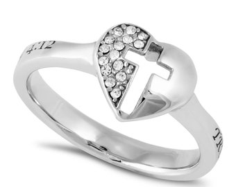 "Padlock Ring ""True Love Waits"""