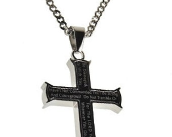 "Iron Cross Black ""Strong And Courageous"""