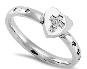 "Heart to Heart Ring ""Purity"""