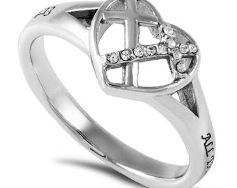 "Shadow Ring ""Christ My Strength"""