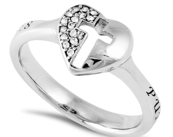 "Padlock Ring ""Purity"""