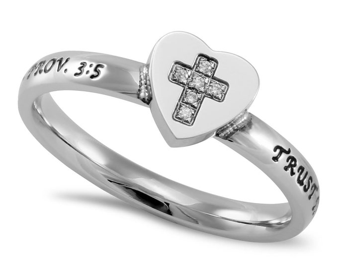 """Heart to Heart Ring """"Trust"""""""