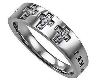 "Tri-Coss Ring ""My Beloved"""