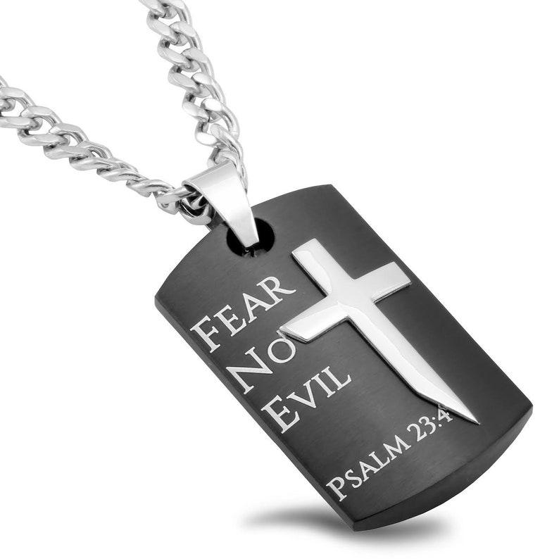 Battle Shield Cross Fear No Evil image 0