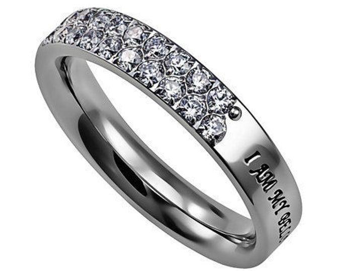 """Quilt Ring """"Beloved"""""""