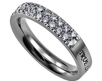 "Character of Faith Ring ""True Love Waits"""