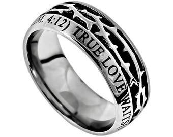 """The Crown Ring """"True Love Waits"""""""