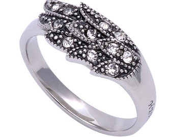 """Wing Ring """"Woman of God"""""""