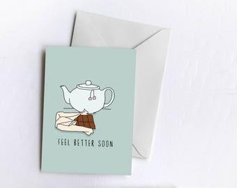 Feel Better Soon | Sympathy Card