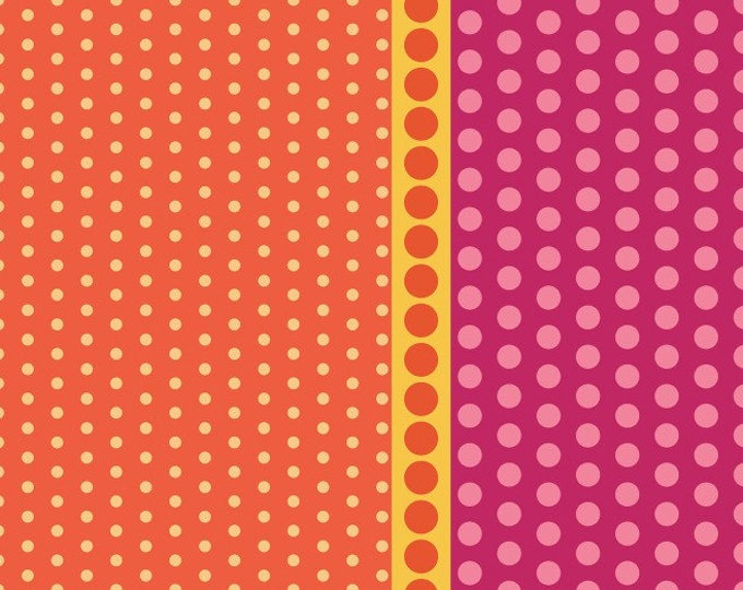 Dot Crazy by Benartex - Playground Strawberry - Cotton Woven Fabric