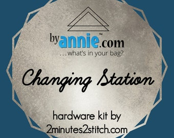 Changing Station - ByAnnie - Hardware Kit by 2 Minutes 2 Stitch