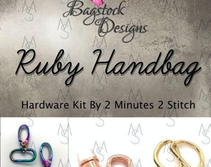 Ruby Handbag - Bagstock Designs - Hardware Kit Only